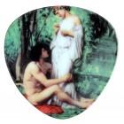 "Magnet ""Malerei"", dreieckig, 6 x 6 cm, MA-13055"