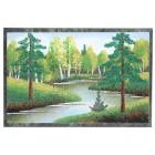 Malerei auf Stein / Tischdeko, 10x15x1 cm