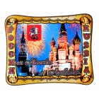 """Magnet Souvenir """"From Moscow with Love"""" H-6,5 cm"""
