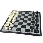 Brettspielset 3 in 1 mit Magnetfeld 29,8x29,8 cm