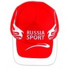 "Kappe ""Russia Sport"" mit Stickerei"