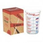 """Souvenir Glas """"Für Russland, Mutter"""", 250 ml"""