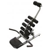 Trainingsgerät für Oberkörper und Rücken schwarz
