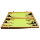 Backgammon, Dame ca. 47,9 x 47,9 cm