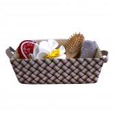 Sauna-Zubehör 5-teilig Set in einer Textilform