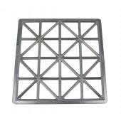 Teigform für Maultaschen 32 Zellen Aluminium