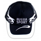 "Kappe ""Russia-Sport"" mit Stickerei"