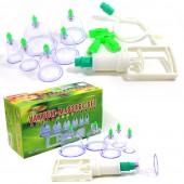 Vacuum-Massage-Set 6 teilig mit Magneten