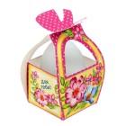 """Коробочка подарочная для яйца """"Для тебя! Со Светлой Пасхой"""""""