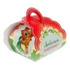 """Коробочка подарочная для яйца """"Любимой бабушке. Со светлой пасхой!"""""""