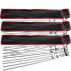 3 комплекта шампуров. Шампура в чехле, 60 x 1,1 см/ 1,5 мм, 10 штук
