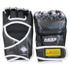 Боксерские перчатки из искусственной кожи черные FIT-14916