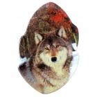 """Магнит """"Волк"""", 5 x 8 см"""