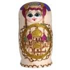 "Матрешка ""Купола"", фиолетовая, 7-кукольная, MA-13785"