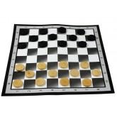 Шашки с картонным игровым полем, 37x37 см