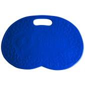 Коврик банный, синий