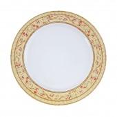 Фарфоровая тарелка с узором