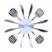 Настенные часы для кухни/ без цифр