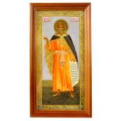"""Икона """"Пророк Илья"""", деревянная рамка, 13,2 x 24,3 см, IK-0051"""