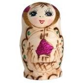 """Матрешка """"Купола"""", 8,5 см, фиолетовая, 5-кукольная, MA-14195"""