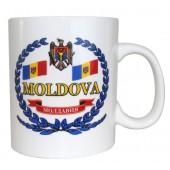 "Кружка ""Молдавия"" 500 мл KT-14485"