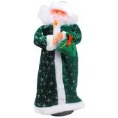 Дед Мороз со свечкой 44 см