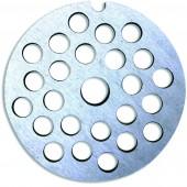 Решетка для ручной мясорубки 68 мм диаметр отверстий 4 мм
