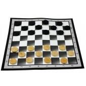 Шашки с картонным игровым полем 602803, 37x37 см
