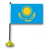 "Флажок на стол ""Казахстан"", с подставкой"