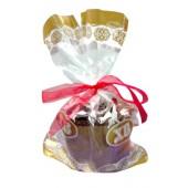 """Пакет для упаковки кулича """"Ангелы золотые"""" 27 x 40 см OS-22067"""
