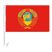 """Флажок на машину """"СССР"""", 30 x 45 см, FA-0009"""