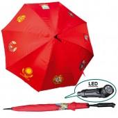 """Зонт """"Все гербы стран"""" с  LED светом"""