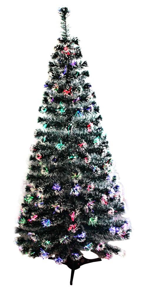 Künstlicher Weihnachtsbaum Weiß Mit Beleuchtung.Künstlicher Weihnachtsbaum Mit Glasfasern Led Beleuchtung 8